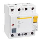 УЗО (устройство защитного отключения) ВД1-63S (4Р 25А 100мА  ІЕК)