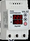 Реле напряжения с ограничителем мощности VА-63 DIN  New DigiTOP